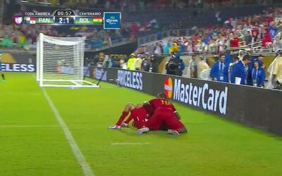Goooolll!! Blas Antonio Miguel Pérez Ortega mete el balón y marca para P...