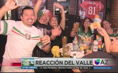 Los mexicanos orgullosos del TRI