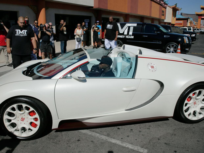 Este es el Bugatti Veyron Grand Sport del que Floyd Mayweather va a desp...