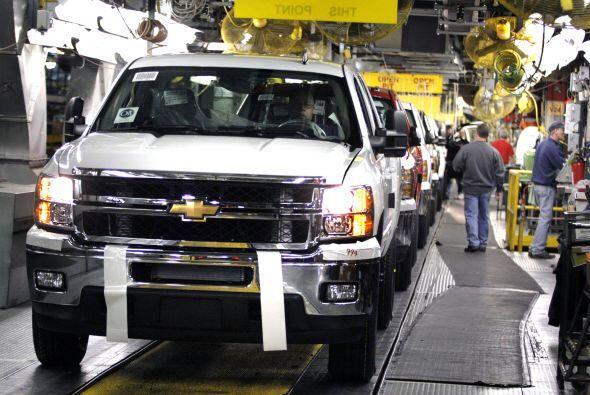 4. General Motors (automotores) - 1º junio 2008 - $91 mil millones.