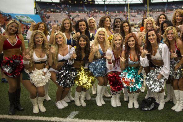¡Así lucieron las bellezas en el Pro Bowl 2013!