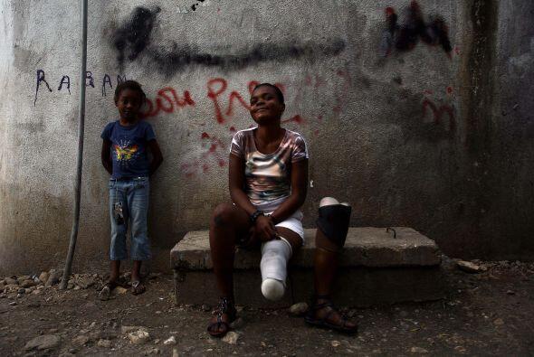 Las mujeres y las niñas haitianas han sufrido en particular de abusos se...