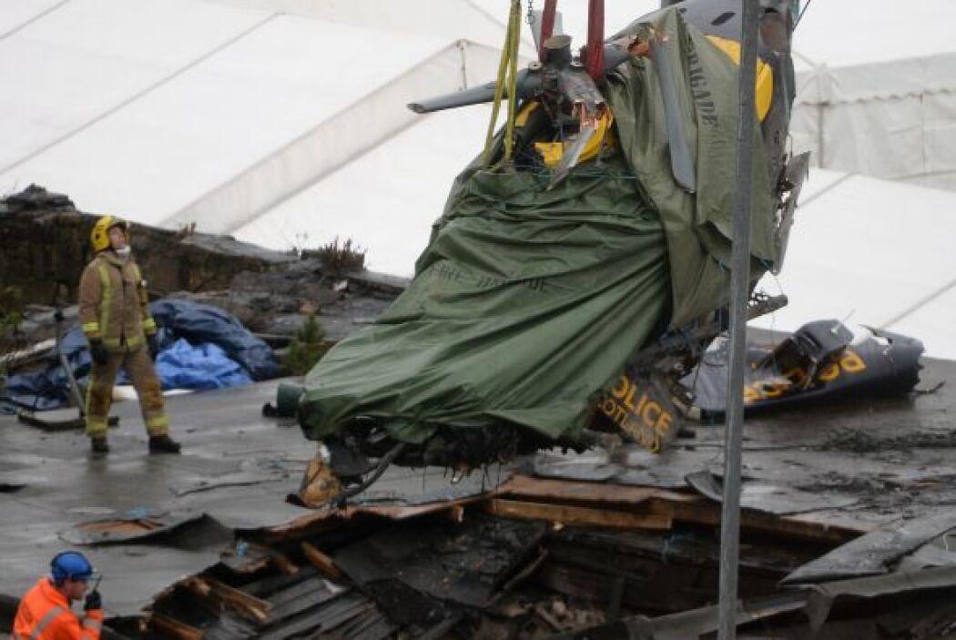 Luego del accidente, varias figuras públicas del Reino Unido expresaron...