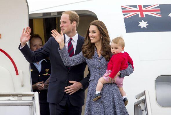 La familia encabezada por el príncipe William y su esposa Kate fue la se...