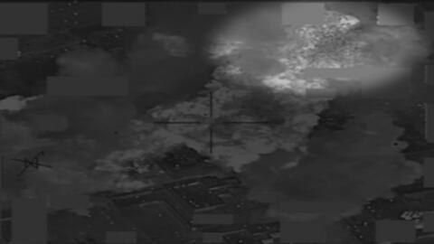 El dinero voló por los aires durante bombardeo a un depósito de ISIS