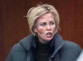 Charlize Theron filma en Alemania su nueva película.