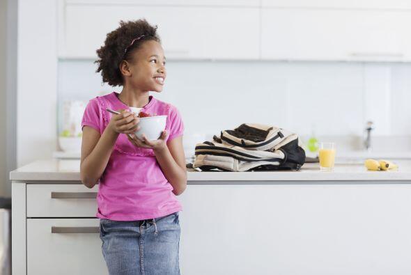 El desayuno debe estar completamente equilibrado entre proteínas,...
