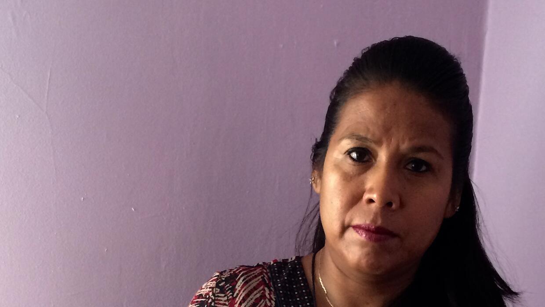 Obdulia Ponce quiere votar en noviembre.