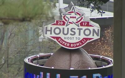 Queda solo un mes para el Super Bowl 51 en Houston y la ciudad se prepara