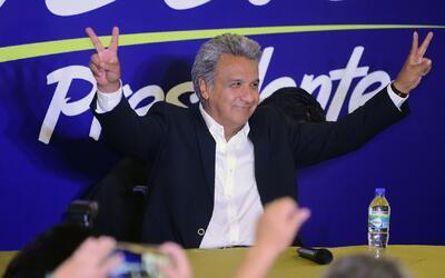 El consejo nacional electoral oficializó a Lenín Moreno como nuevo presi...