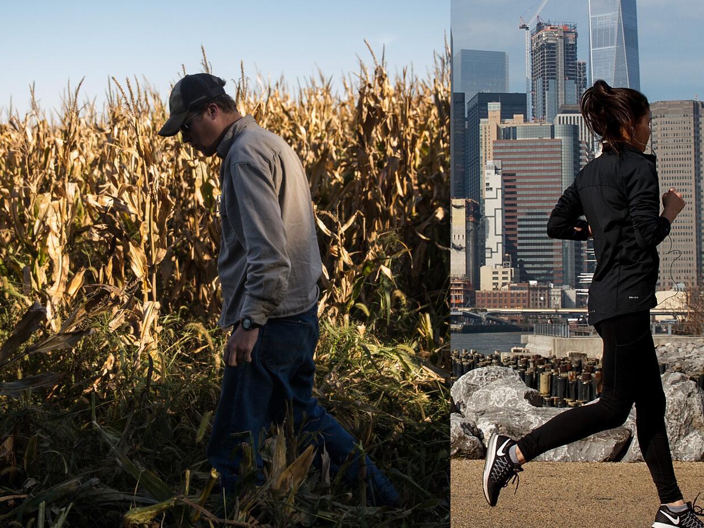 Estados Unidos vive una fuerte tensión entre el mundo rural y urb...