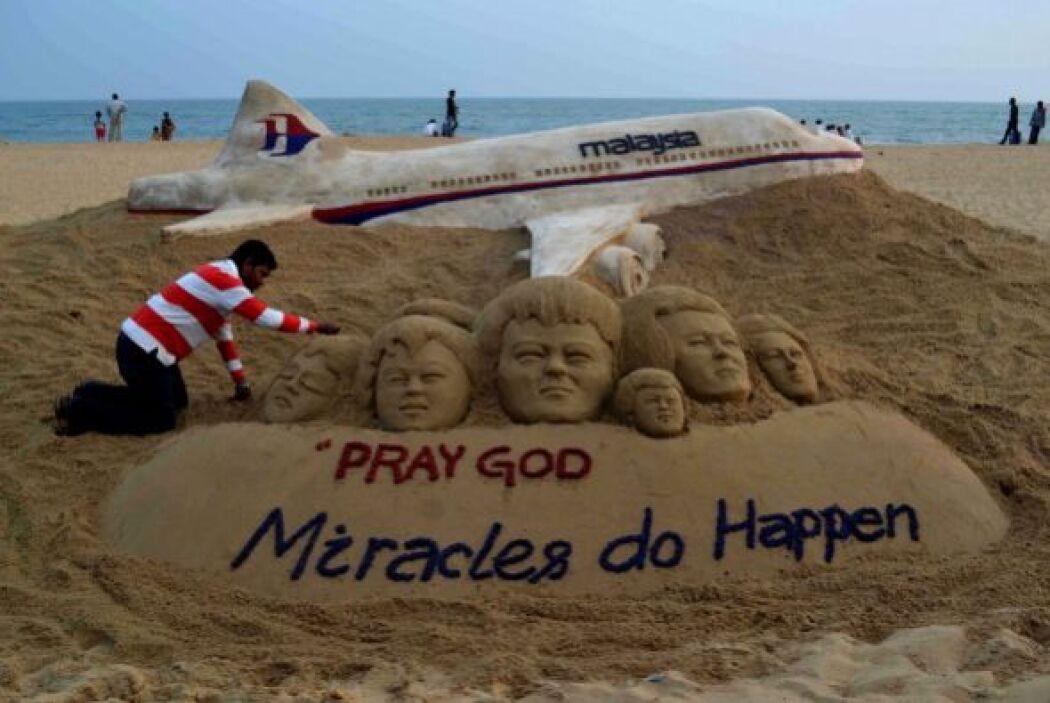 Este martes, cuando se cumple un mes de la desaparición del vuelo MH370...