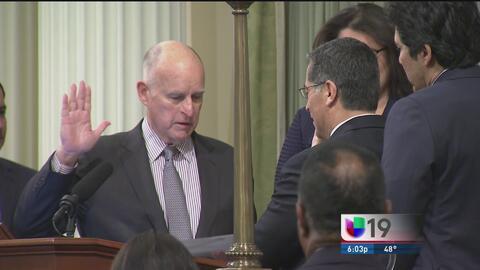 Javier Becerra juramenta como procurador de California