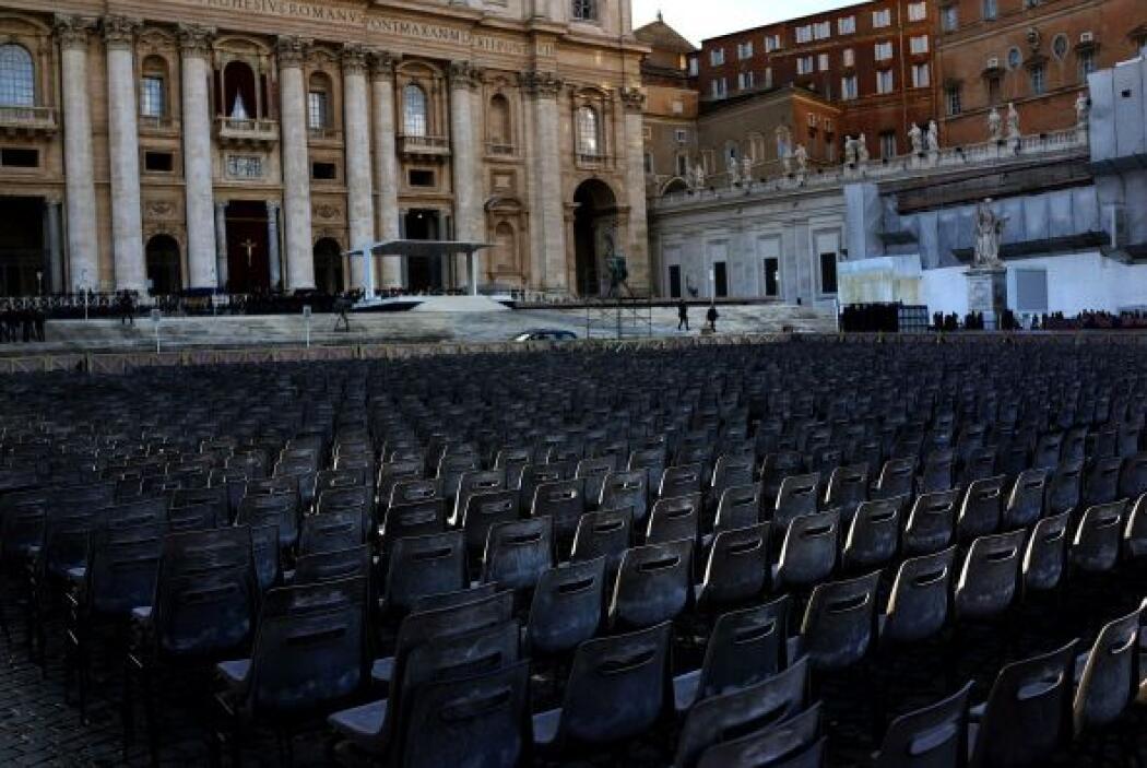 Todo está listo en el Vaticano para la misa solemne de inicio de Pontifi...