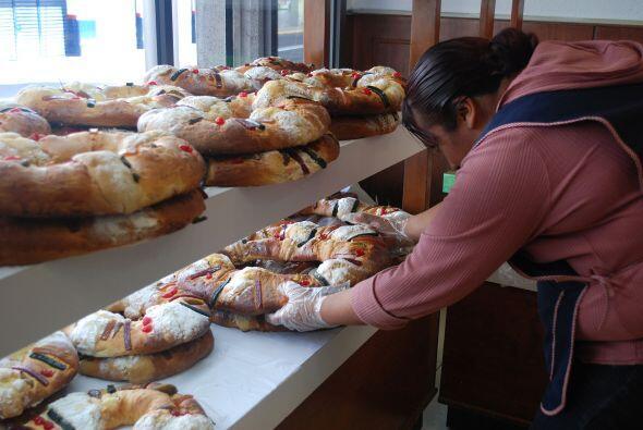 Las ventas en las panaderías durante el Día de Reyes se in...