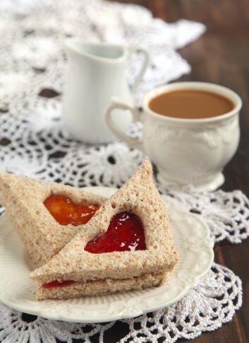 Estos emparedados son el perfecto compañero de una taza de caf&ea...