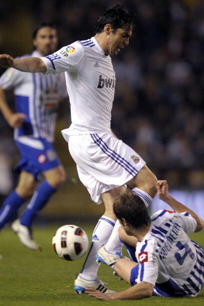 Kaká estuvo muy participativo pero no hizo diferencias.