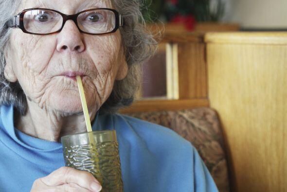 """""""El agua, ni envejece ni empobrece"""", dice María Haydée cada vez que acom..."""