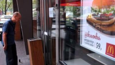 El gigante de comida rápida anunció el cierre temporal por exigencias de...