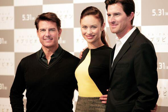 Otro chaparrito consentido es Tom Cruise, que a pesar de que mide 5 pies...
