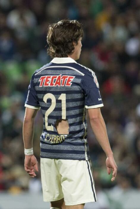 Carlos Fierro fue otro que dio un partidazo por el costado derecho donde...