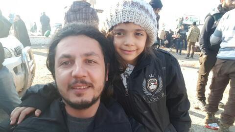 Bana, la niña tuitera de Alepo, es evacuada junto a su familia