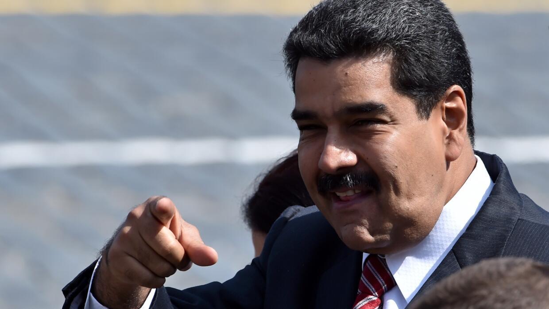 Nicolás Maduro dijo que Maradona debería ser presidente de FIFA.
