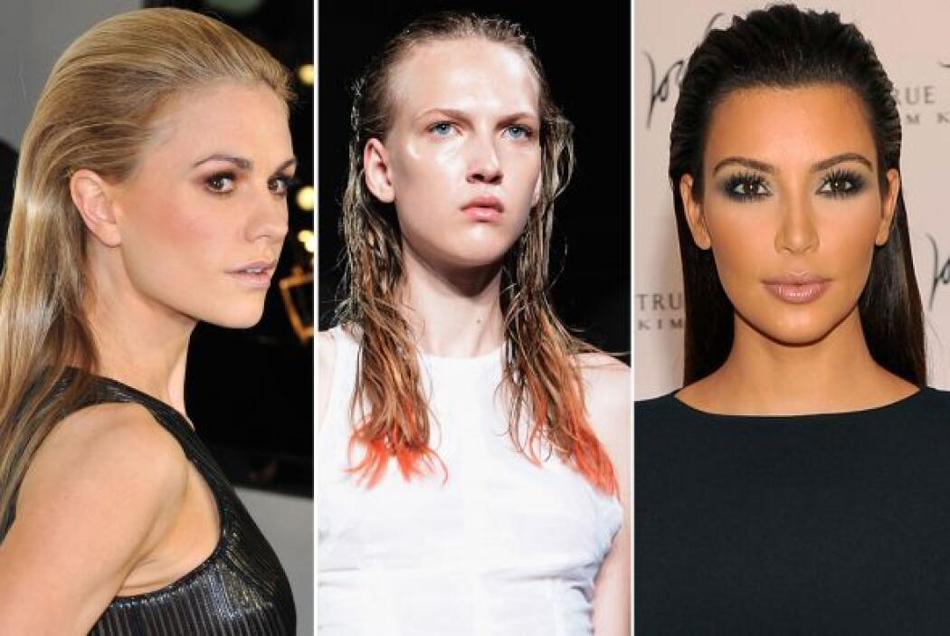 Tanto en las pasarelas como en la vida real, el peinado relamido hacia a...