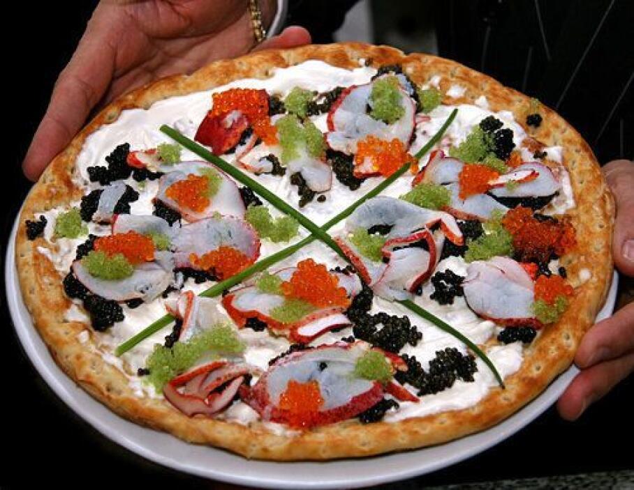 Esta pizza del restaurante Nino's Bellisima en Nueva York solo te cuesta...