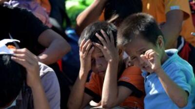 En Filipinas los hospitales están llenos de heridos y enfermos, carecen...