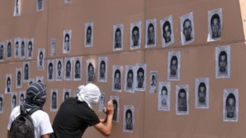 Fotos de los 43 desaparecidos en Iguala.