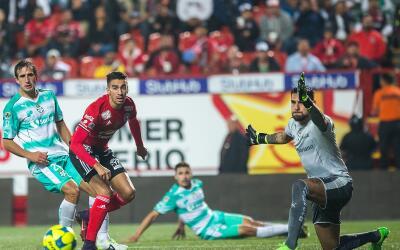 Xolos y Santos igualaron en el Estadio Caliente.