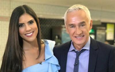 Francisca Lachapel platicó con Jorge Ramos