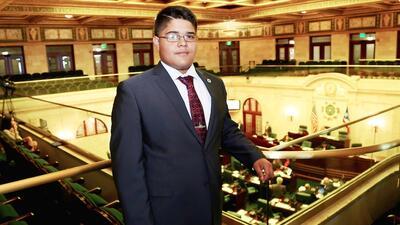 David Rodríguez Vargas, ciudadano más joven en impulsar le...