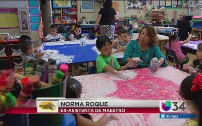 Norma Roque, de asistente de maestro a reportera