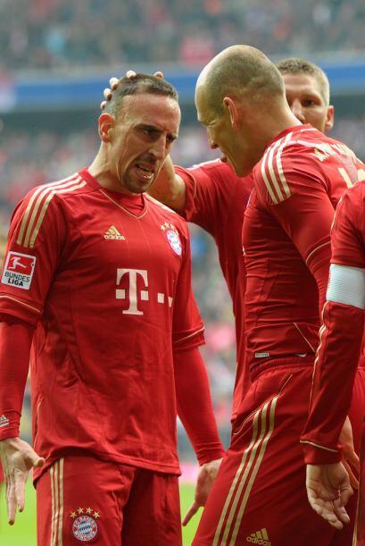 1.- La explosividad de Ribery y Robben: Dos de los pilares del Bayern so...