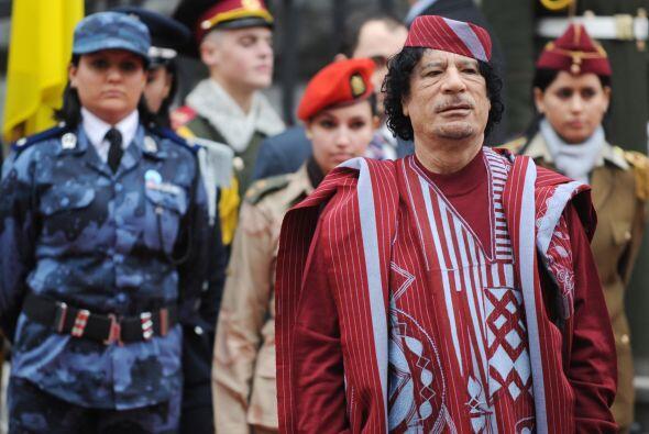 Pero las cuentas bancarias no son el único bien que poseía Gadafi, tambi...