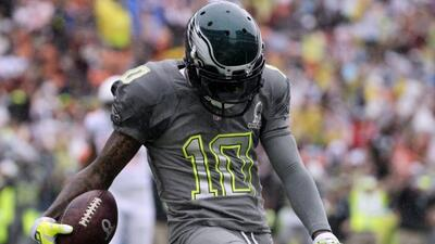 DeSean Jackson podría salir de los Eagles (AP-NFL).