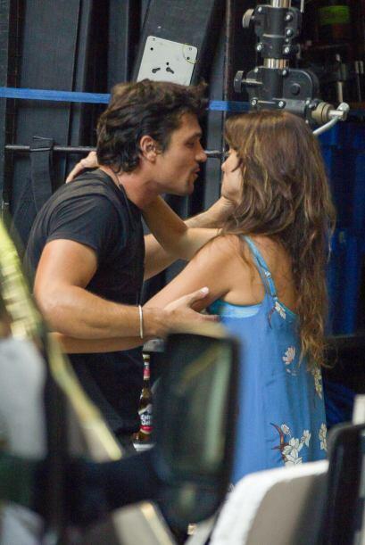 ¿La actriz se habrá conseguido un nuevo amor durante la filmación de est...