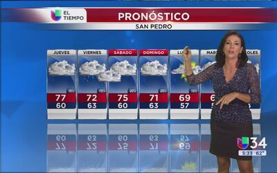 Se avecina la lluvia al sur de California