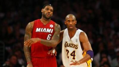 LeBron y Kobe son la experiencia de esta preselección, mientras queGrif...