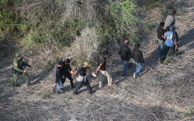 Inmigrantes detenidos
