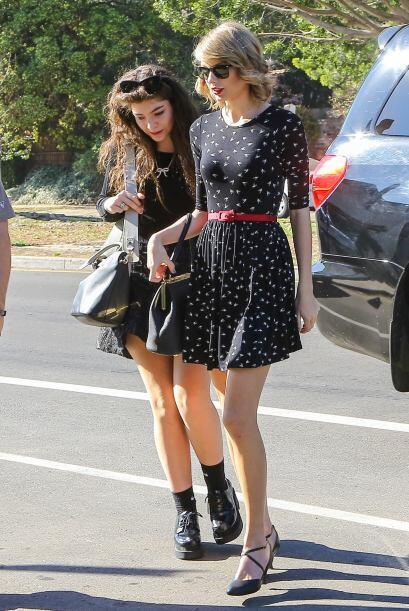 Preferimos ver a Taylor cambiando de amigos que de novios. Mira aquí los...