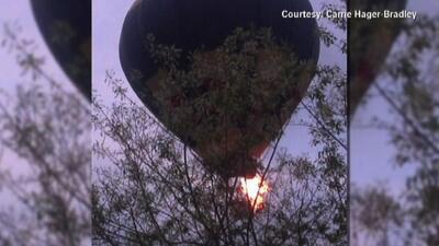 Accidente en globo deja al menos dos muerto en Virginia