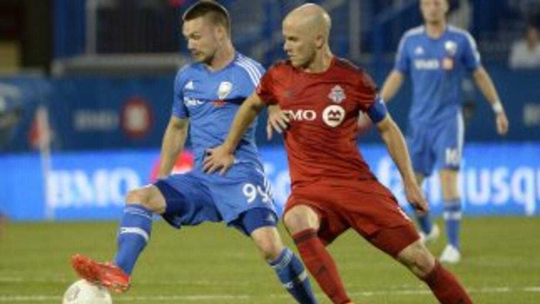 Jack McInerney y Michael Bradley, Montreal Impact vs Toronto FC