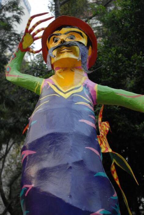 La tradición de los alebrijes en México data de muchos años atrás.