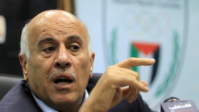 Jibril Al Rahaoul, presidente de la Federación Palestina.