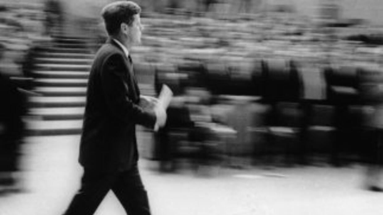 John F. Kennedy.