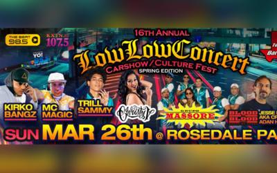 Low Low Concert