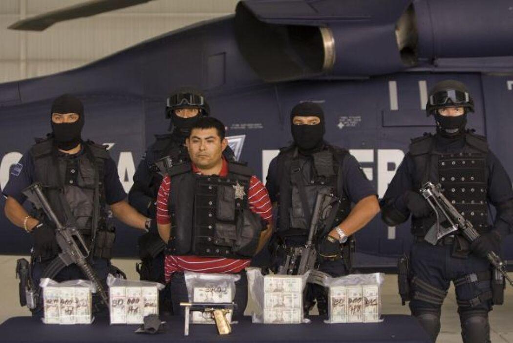 Fue capturado en el estado de Tamaulipas, en noviembre del 2008.